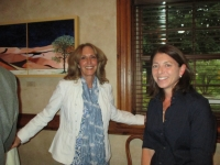 Marcia Gloster Ammeen with fellow award winner Linda Streicher